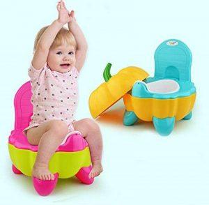 Malayas® Pot BébéToilette de Voyage Portable Design Amusant pour Enfant Dossier Ergonomique Haut Confortable et Robuste de la marque Malayas image 0 produit