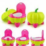 Malayas® Pot BébéToilette de Voyage Portable Design Amusant pour Enfant Dossier Ergonomique Haut Confortable et Robuste de la marque Malayas image 1 produit