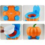 Malayas® Pot BébéToilette de Voyage Portable Design Amusant pour Enfant Dossier Ergonomique Haut Confortable et Robuste de la marque Malayas image 3 produit