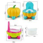 Malayas® Pot BébéToilette de Voyage Portable Design Amusant pour Enfant Dossier Ergonomique Haut Confortable et Robuste de la marque Malayas image 4 produit