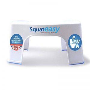 Marchepied pour toilettes Squat Easy anti-bactérien. Plastique de grade médical Anti-bactérien breveté. de la marque SquatEasy image 0 produit