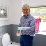 Marchepied pour toilettes Squat Easy anti-bactérien. Plastique de grade médical Anti-bactérien breveté. de la marque SquatEasy image 1 produit