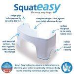 Marchepied pour toilettes Squat Easy anti-bactérien. Plastique de grade médical Anti-bactérien breveté. de la marque SquatEasy image 3 produit
