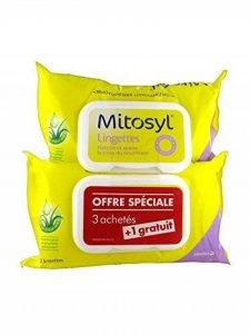 Mitosyl Lingettes Nettoyantes et Apaisantes Lot de 4 x 72 Lingettes de la marque Mitosyl image 0 produit