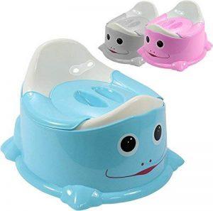 Monsieur Bébé ® Pot de toilette + couvercle anti odeur + poignée de transport - Trois coloris - Norme CE de la marque Monsieur Bébé image 0 produit