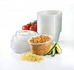 Mummy Cooks - Lot de 20 boites de conservation avec couvercle (180 mL) - Sans bisphénol A de la marque Mummy-Cooks image 0 produit