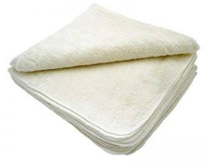 MuslinZ Wipes Lot de 12 lingettes en coton/bambou pour bébé Lavables de la marque MuslinZ image 0 produit