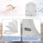 Nakey Siège de Toilette Blanc, Abattant WC avec Lunette, Lunette de Toilette avec Siège Reducteur Intégré pour Adultes et Enfants (U) de la marque Nakey image 1 produit