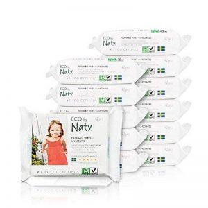 Naty 12 Packs de 42 Lingettes Douces Ecologiques Toilette de la marque Naty-by-Nature-BabyCare image 0 produit
