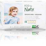 Naty 12 Packs de 56 Lingettes Douces Ecologiques sans Parfum de la marque Naty-by-Nature-BabyCare image 1 produit