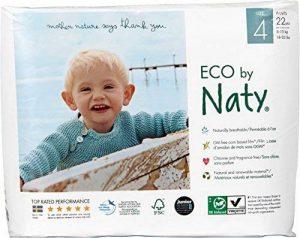 Naty by Nature Babycare - Culottes d'Apprentissage Écologiques Jetables - Maxi Plus - Poids: 8 - 15 Kg - Lot de 4(x 22 Couches) de la marque Naty by Nature BabyCare image 0 produit