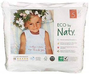 Naty by Nature Babycare - Culottes d'Apprentissage Écologiques Jetables - Taille 5 Junior - Poids: 12-18 Kg - 20 Couches de la marque Naty-by-Nature-BabyCare image 0 produit