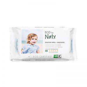 Naty Lingettes Douces Ecologiques sans Parfum 3 Pack de 56 Lingettes de la marque Naty-by-Nature-BabyCare image 0 produit