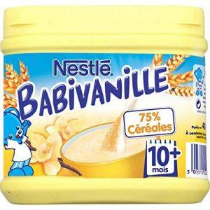 Nestlé Bébé Babivanille Céréales Petit Déjeuner Dès 10 Mois 400 g - Lot de 6 de la marque Nestlé image 0 produit