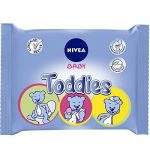 Nivea Baby Toddies 60 Lingettes - Lot de 12 de la marque NIVEA-BABY image 1 produit