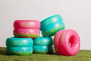 Noybo–Pot de voyage Assise et pot d'entraînement pour les tout-petits et les enfants–léger, gonflable, pliable et facile de 7,6la solution optimale pour n'importe quelle Sortie avec les enfants. Compatible avec tous les sacs. (Turquoise) de la marque image 0 produit