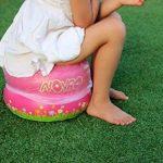 Noybo–Pot de voyage Assise et pot d'entraînement pour les tout-petits et les enfants–léger, gonflable, pliable et facile de 7,6la solution optimale pour n'importe quelle Sortie avec les enfants. Compatible avec tous les sacs. (Turquoise) de la marque image 4 produit