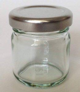 Nutley's Petits pots à confiture en verre avec couvercle argenté 42ml (lot de 30) de la marque Nutleys image 0 produit