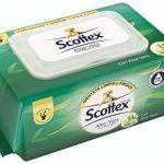 Papier hygiénique humide Scottex Sensitive aloe vera. 74Services de la marque Scottex image 1 produit