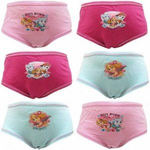 """Paw Patrol """"Girl Pups"""" Filles 6 Culotte Slips de la marque TDP Textiles image 0 produit"""