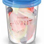Philips Avent Pots de conservation 10x180 ml et 10x240 ml avec Couvercles associés et Cuillère de Sevrage de la marque Philips-AVENT image 2 produit