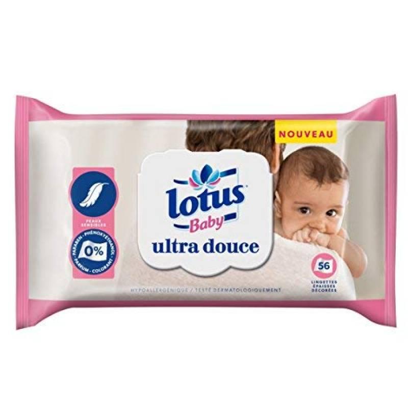 paquet de 18, 98/% Deau 0/% de Plastique 1008 Lingettes au Total Hypoallerg/énique et Test/é Dermatologiquement. Mum /& You Lingettes Humides 100/% Biod/égradables pour B/ébe