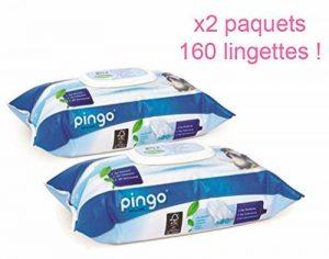 PINGO: Lingettes écologiques PH Naturel pour peaux sensibles x2 paquets (160 lingettes) de la marque Pingo image 0 produit