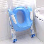 pliante d'apprentissage de la propreté Abattant de WC réglable pour bébé Kid Trainer avec échelle Marchepied pour garçon et fille–Rose–par Guilty Gadgets de la marque Guilty Gadgets image 1 produit
