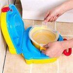 Portable Voyage Pot avec couvercle et poignée de transport par Babyhugs–Rose Fuchsia de la marque BabyHugs image 2 produit