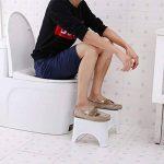 Pot Accroupie Tabouret Repose-pied Tabouret de toilettes de salle de bain Step Up Tabouret crapaud Aid pour enfants adultes de la marque Lembeauty image 3 produit