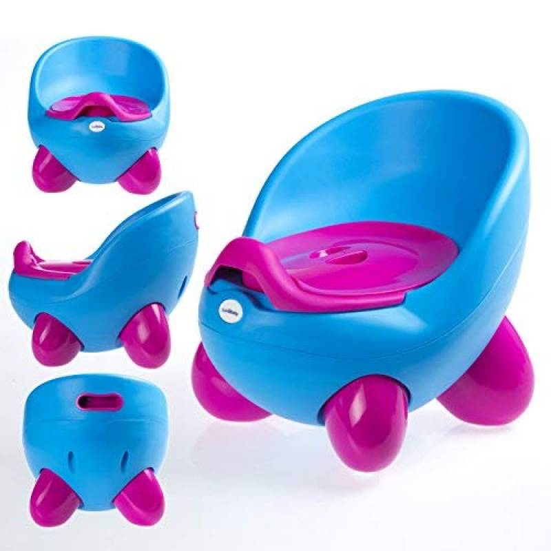 Si/ège-pot par LuvdBaby Design amusant pour gar/çons et filles Dossier ergonomique haut  Pieds anti-d/érapants R/éservoir amovible /à couvercle anti-odeurs