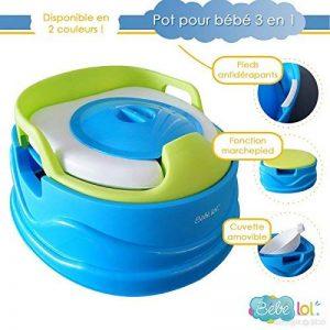 Pot bébé évolutif 3 en 1 deluxe Bébélol® de la marque Bébélol ® image 0 produit