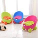Pot Chaise, conception ergonomique confortable bébé enfants Réducteur de toilette, pour enfant filles garçons d'apprentissage de la propreté de la marque GEZICHTA image 2 produit