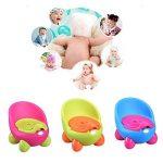 Pot Chaise, conception ergonomique confortable bébé enfants Réducteur de toilette, pour enfant filles garçons d'apprentissage de la propreté de la marque GEZICHTA image 3 produit