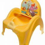 Pot de toilette musical pour bébé enfant fauteuil chaise thème Animaux Safari couleur jaune de la marque Tega image 2 produit
