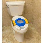 Pot de voyage - réducteur de toilettes Potette Plus - Pack 3 en 1 avec insert caoutchouc réutilisable + 10 recharges jetables de la marque Potette Plus image 1 produit