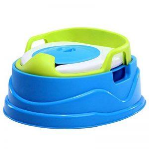 Pot enfants avec de toilettes de Skaize | Pot amovible avec couvercle, umwandel Bar en Siège de toilette et Marchepied WC, enfants pour filles et garçons à 5ans de la marque Skaize image 0 produit