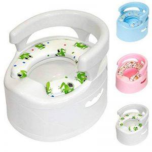 Pot | Grande sélection de beaux pots | avec récipient intérieur amovible et d'entretien facile | assise confortable (Blanc) de la marque Sanilo image 0 produit
