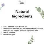 Rael Lingettes féminines avec des ingrédients naturels, utilisation de jour ou de nuit, jetable, pH équilibré, doux et sûr sur la peau. (3 Packs) de la marque Rael image 2 produit
