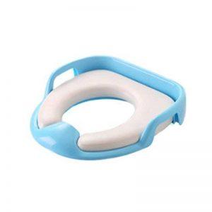 Réducteur de siège pour filles et garçons Portable Convient pour la plupart des tailles de chaise de toilette Trainer enfant sièges Coque 1pièce Bleu de la marque hou zhi liang image 0 produit