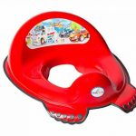 Réducteur de toilette anti-dérapant + marchepied pour évier WC enfant bébé Tega Baby voiture cars couleur rouge de la marque Tega Baby image 1 produit