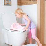 Réducteur de toilette anti-dérapant + marchepied pour évier WC enfant bébé Tega Baby voiture cars couleur rouge de la marque Tega Baby image 4 produit