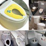 Réducteur de Toilette Enfant 2 in 1 Utiliser à la maison ou dans le voyage,Pliable Pot toilette pour Bébé,Enfant Avec sac de transport de la marque Jaetech House image 1 produit