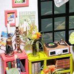 Robotime De Musique Bricolage - Maison de poupées miniatures adorables avec meubles et accessoires - Miniature Dolls Kits de rénovation maison avec LED Light Pour Garçons et Filles 6, 7, 8, 9 Ans et plus - Cadeau de Noël Créatif Pour Enfants et Adulte de image 4 produit