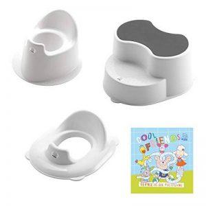 Rotho Babydesign TOP Kit d'Apprentissage Petit Pot, 18 mois-6 Ans, TOP, Blanc, 21050000101 de la marque Rothobabydesign image 0 produit