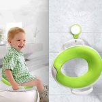 SHOUHOUZHE BéBé Cuvette De Toilette pour Enfants Amovible SièGe De Formation des Toilettes Verte de la marque SHOUHOUZHE image 2 produit