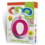 Siege réducteur de toilettes pour enfant antidérapant unisexe | GRATUIT : attache murale de rangement a ventouse de la marque Luvdbaby image 1 produit