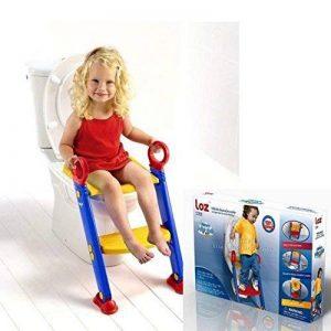 Siège de toilettes pour enfant/bébé, avec escabeau, pour apprentissage de la propreté de la marque Keraiz image 0 produit