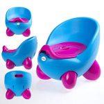 Siège-pot par LuvdBaby | Réservoir amovible à couvercle anti-odeurs | Dossier ergonomique haut| Pieds anti-dérapants | Design amusant pour garçons et filles de la marque Luvdbaby image 1 produit