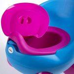 Siège-pot par LuvdBaby | Réservoir amovible à couvercle anti-odeurs | Dossier ergonomique haut| Pieds anti-dérapants | Design amusant pour garçons et filles de la marque Luvdbaby image 2 produit